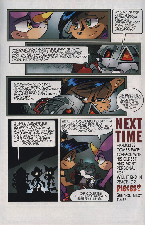Read online Sonic The Hedgehog comic -  Issue #221 - 23