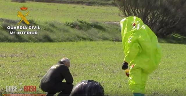 """Παράξενες """"Διαστημικές Μπάλες"""" Συνεχίζουν Να Πέφτουν Σε Χωριά Της Ισπανίας - Βίντεο"""