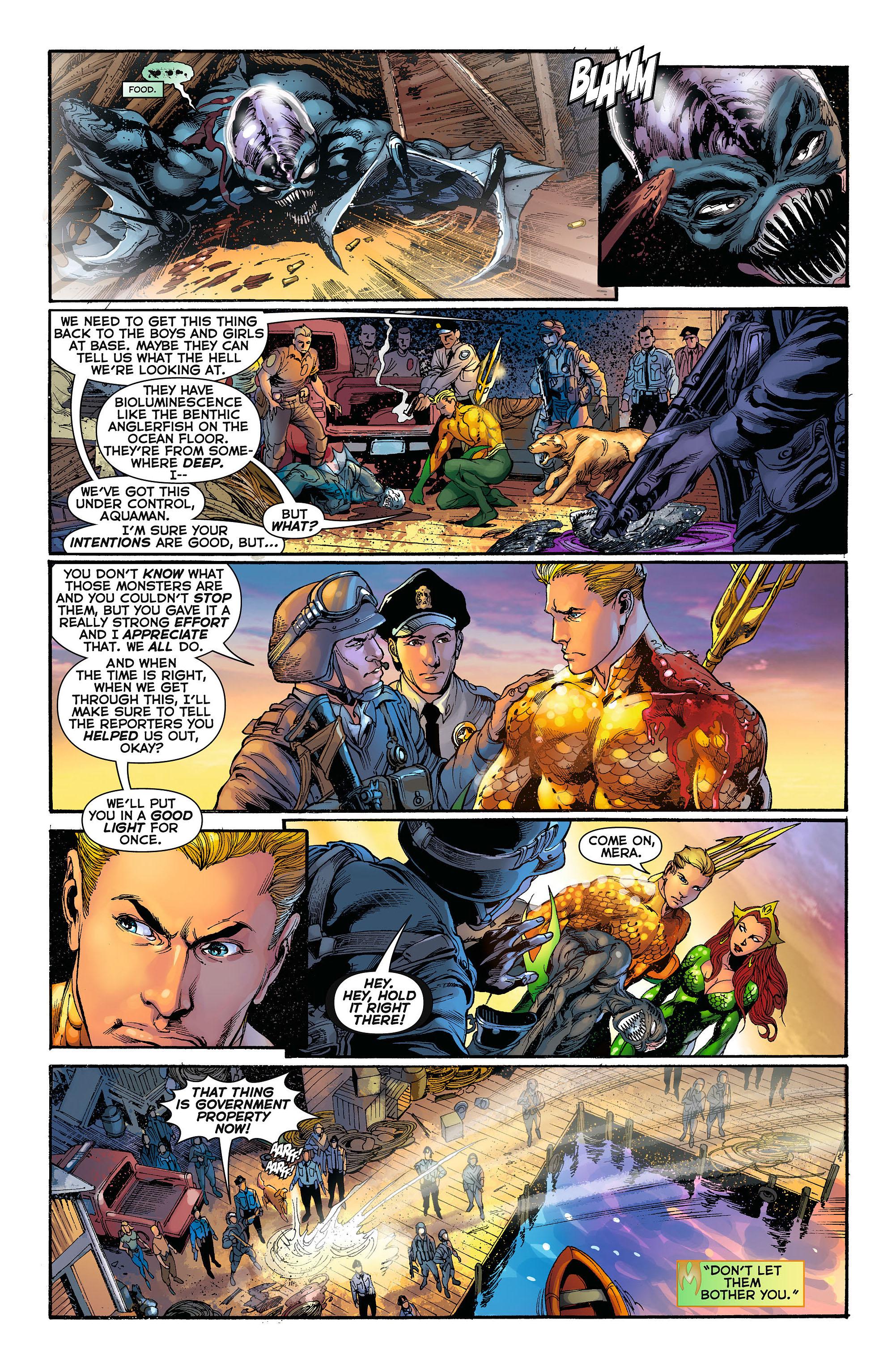 Read online Aquaman (2011) comic -  Issue #3 - 12