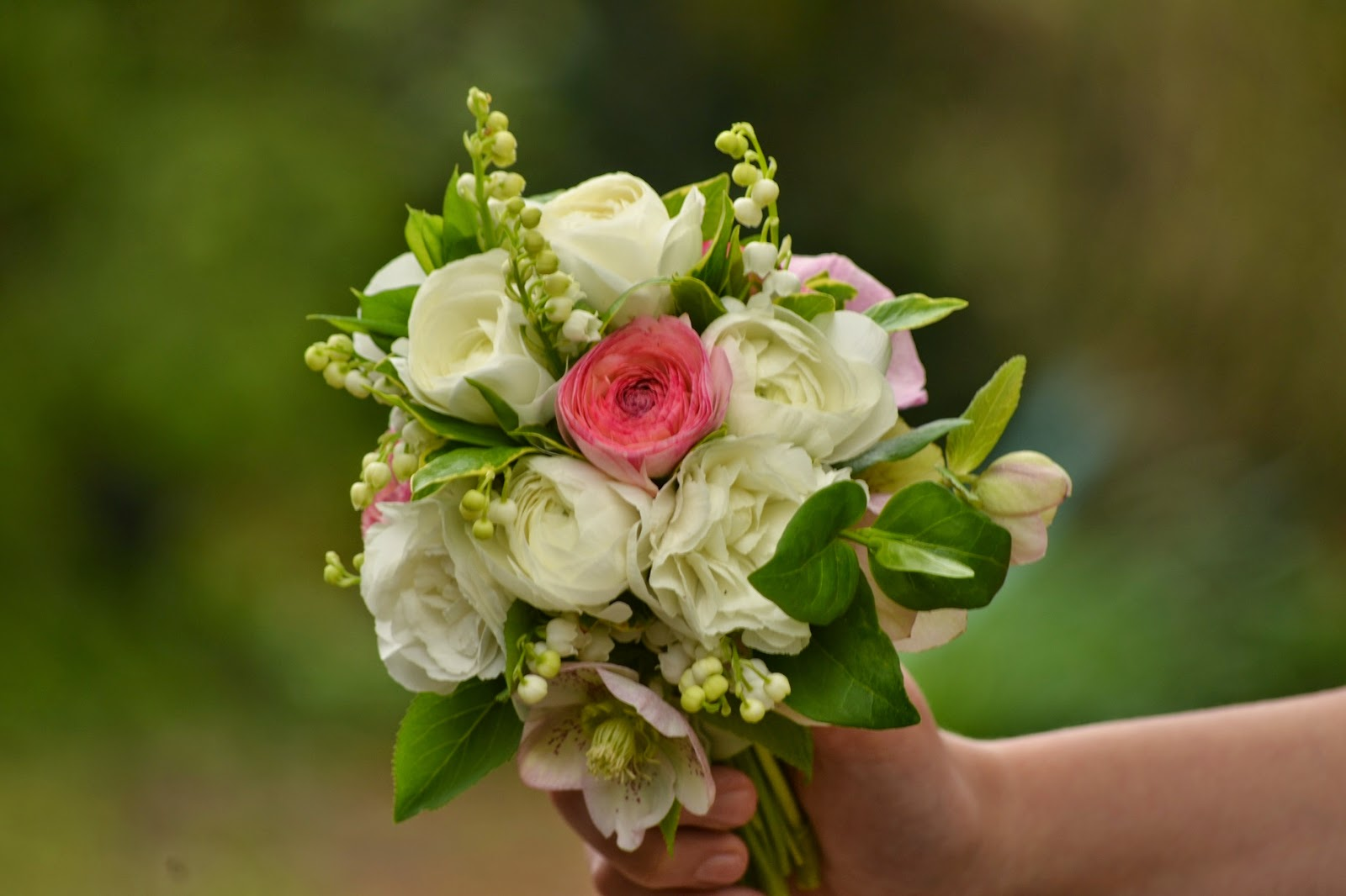 Wedding Flowers From Springwell: Lily Of The Valley For