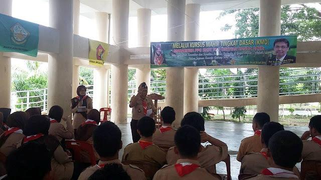 PPG SM3T Unsyiah Laksanakan KMD (Pramuka) di Krueng Jreu