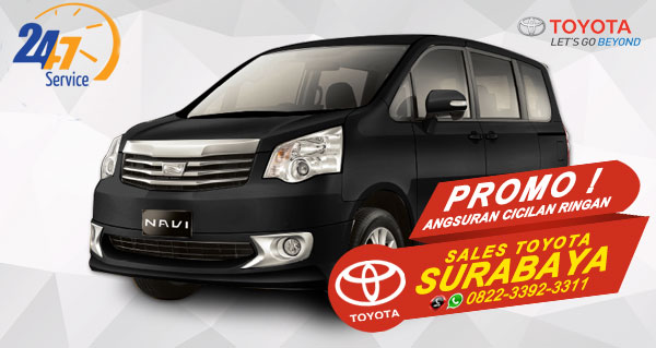 Promo Angsuran Cicilan Ringan Toyota NAV1 Surabaya