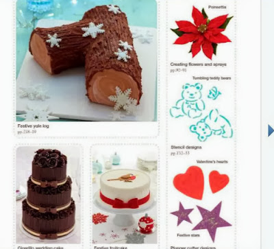 Step-by-Step Cake Decorating  christmas cakes