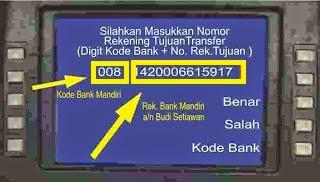 Cara Transfer Lewat ATM Bersama