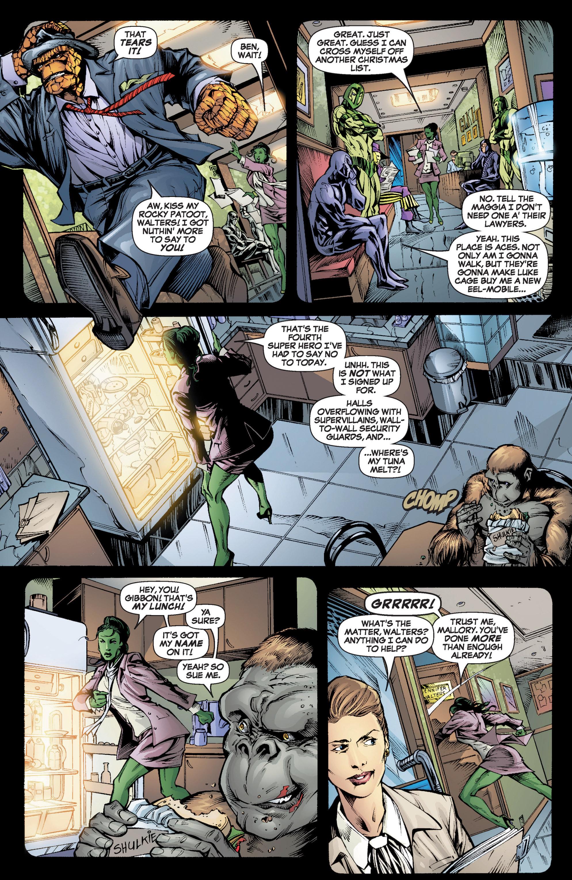 Read online She-Hulk (2005) comic -  Issue #6 - 6