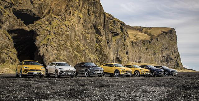 ランボルギーニがアイスランドの壮大な自然の中で遠征イベント「ランボルギーニ・アヴェンチュラ」を開催!