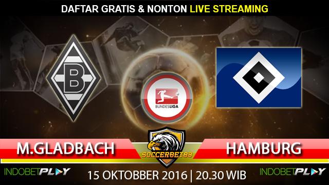 Prediksi Monchengladbach vs Hamburg 15 Oktober 2016 (Liga Jerman)