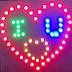 Hướng dẫn Làm led trái tim 32 led + Chữ I ♥ U - ChipKool