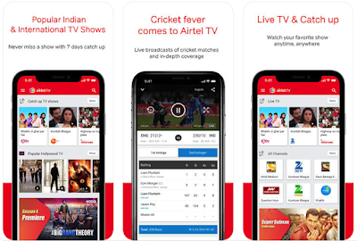 Airtel live tv channel app