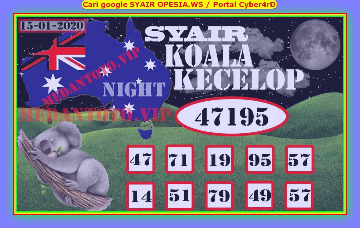Kode syair Sydney Rabu 15 Januari 2020 92