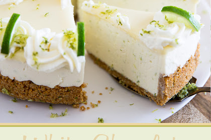 No Bake White Chocolate Lime Cheesecake Recipe