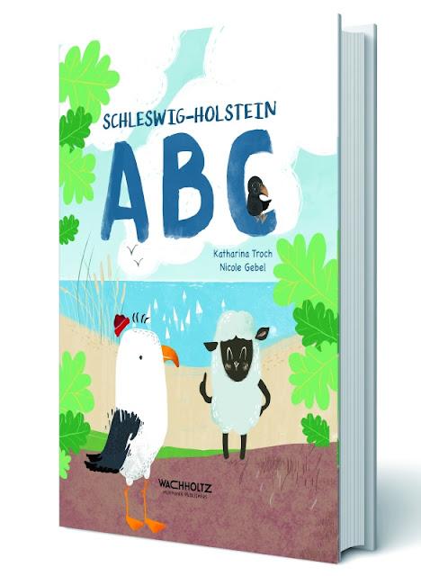 """Das Bücherboot: Kinderbücher aus dem Norden. In """"Schleswig-Holstein ABC"""" wird das Alphabet spielerisch und norddeutsch an Kinder vermittelt."""