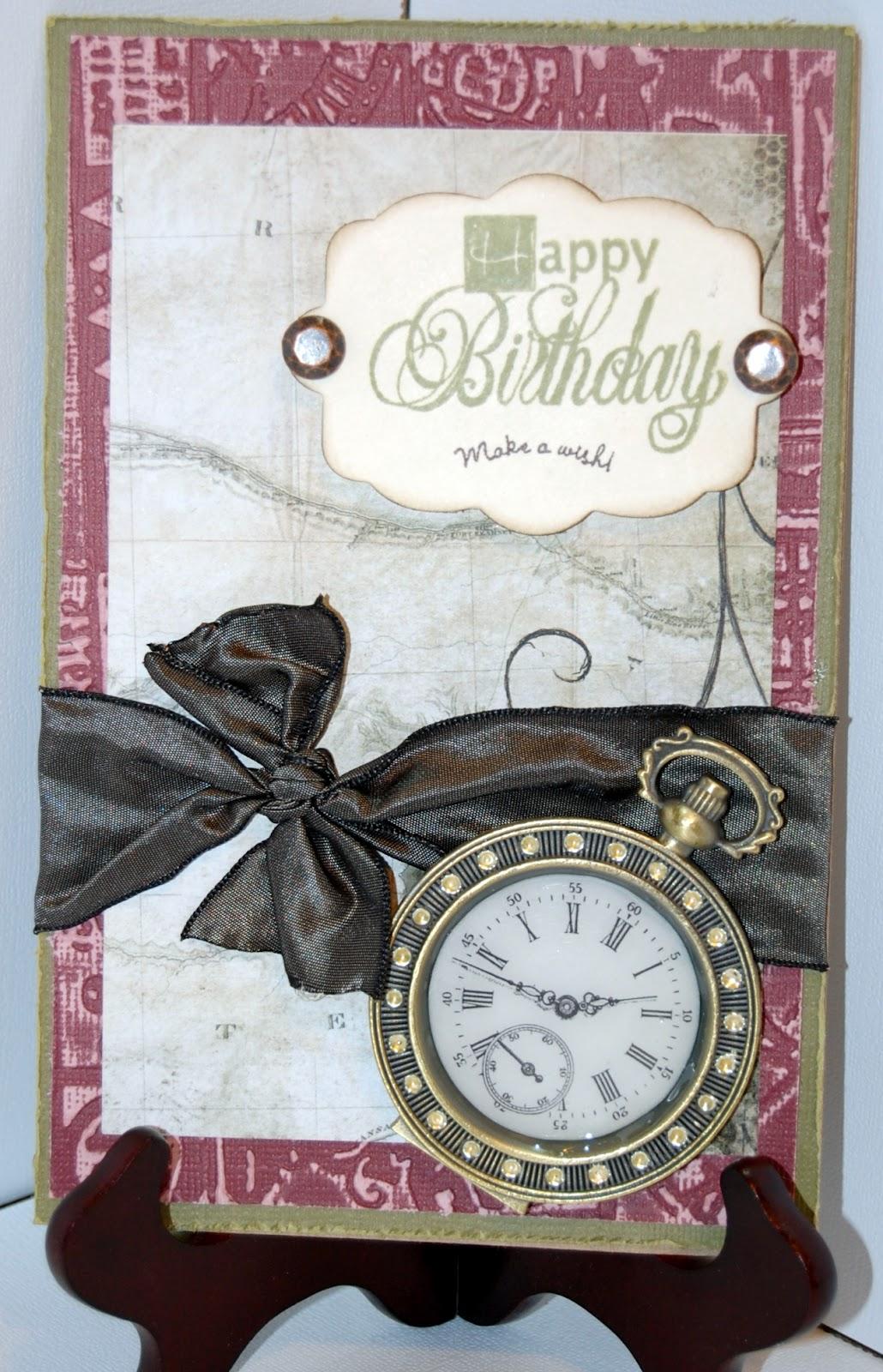 cardsbyamyk masculine handmade birthday card for husband
