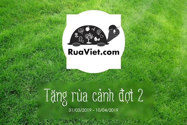 [Kết thúc] Rùa Việt tặng rùa cảnh đợt 2