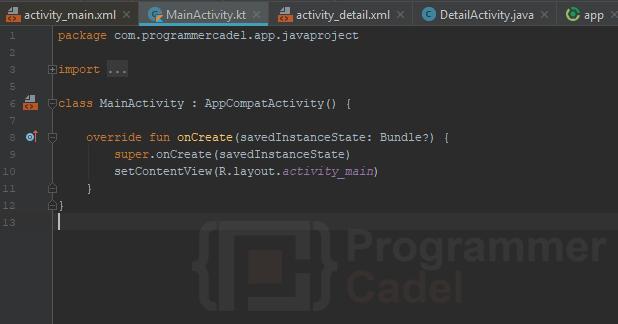 kode hasil konversi java ke kotlin