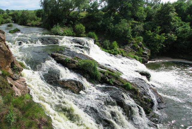 Водопад Вчелька