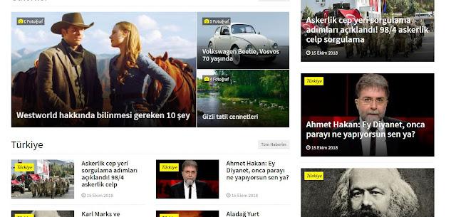 haber sitesi kur