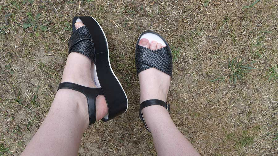 sandale tressées plateforme stephane kélian
