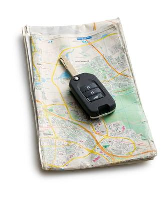 طريقة تحديد موقع سيارتك عن بعد (على مسافة منك)