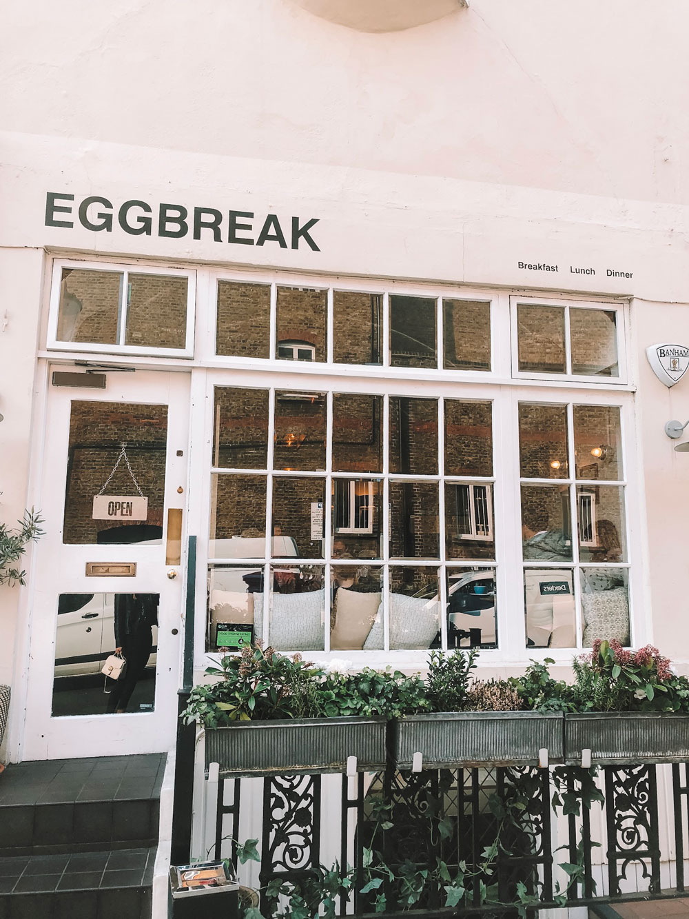 Eggbreak breakfast in Notting Hill
