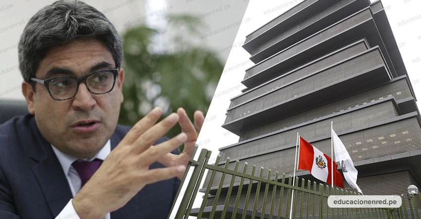 CONFIRMADO: Aumento de sueldo para maestros nombrados y contratados será en Marzo, aseguró el Ministro de Educación Martín Benavides.
