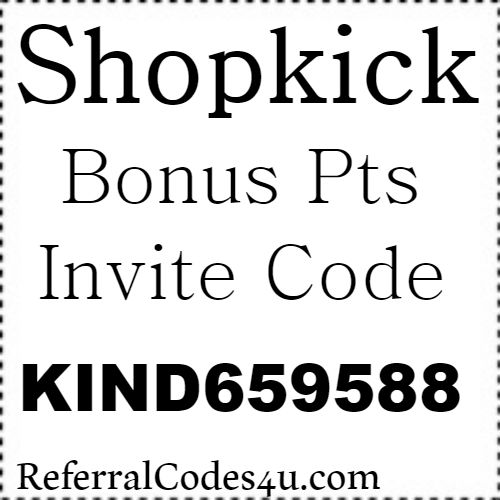 ShopKick App Invite Code, Referral Code, Sign Up Bonus and Reviews 2021