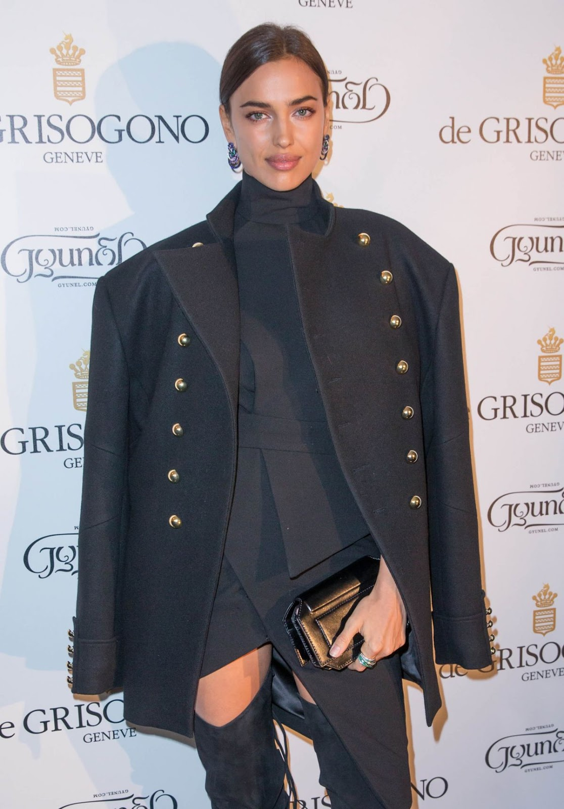 Cristiano Ronaldo Girlfriend Irina Shayk at De Grisogono Photocall at Rue De La Boetie in Paris