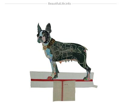Collage con perro