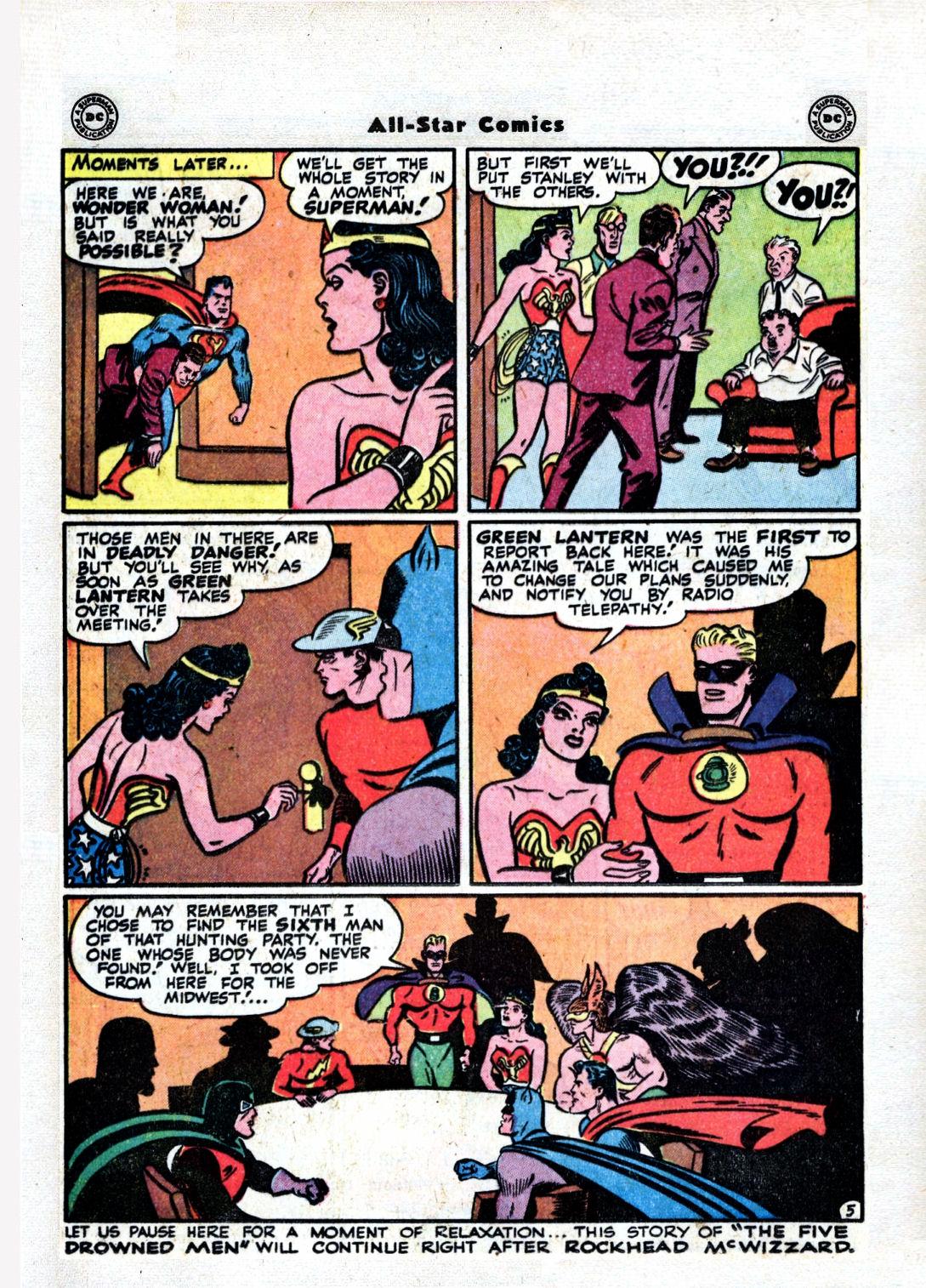 Read online All-Star Comics comic -  Issue #36 - 36