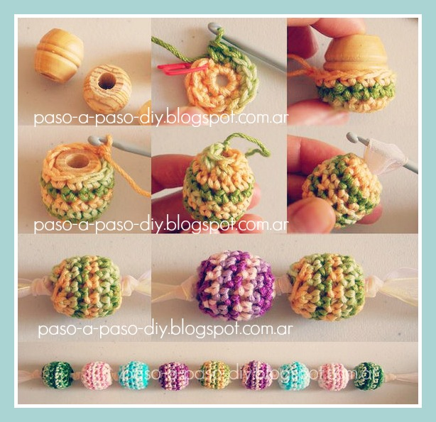 Cómo hacer un collar tejido al Crochet