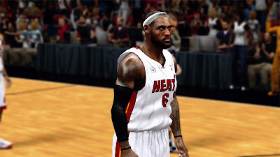 NBA 2K13 LeBron James NBA2K 2K Patch