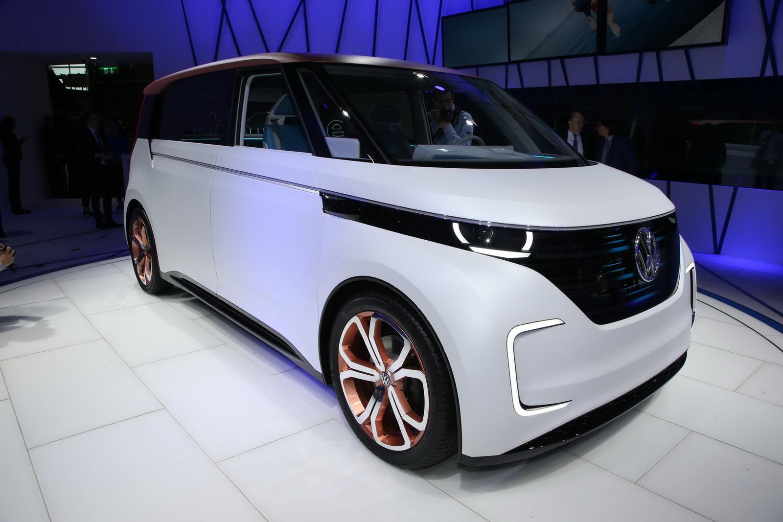 Volkswagen BUDD-e Concept có thiết kế đẹp và thiết thực