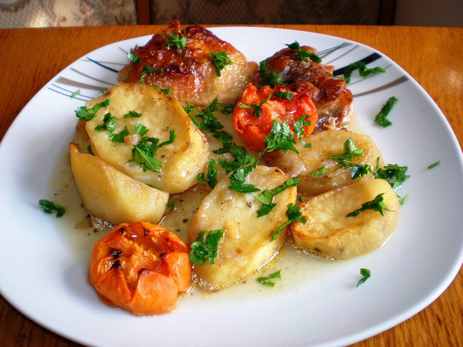 Pulpițe de pui și cartofi