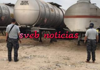 Aseguran 110 mil litros de combustible robado en Minatitlán