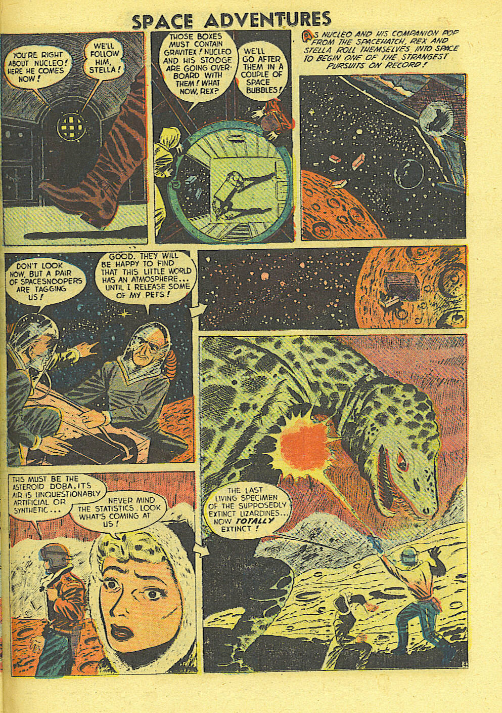 Space Adventures (1952) issue 4 - Page 22
