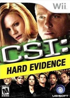 C.S.I%2BHard%2BEvidence - C.S.I Hard Evidence - Wii