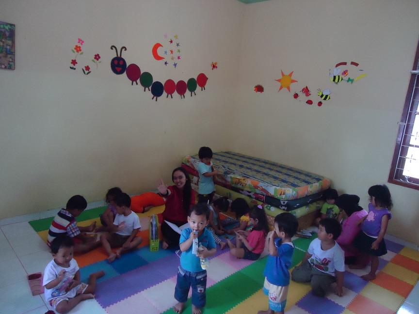 tempat penitipan anak tempat penitipan bayi play group taman kanak-kanak kindergarten el genio school maguwoharjo kotabaru jogja