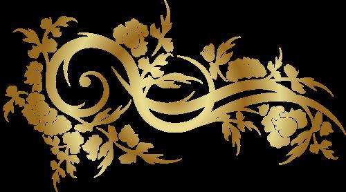 Фон золото с узорами