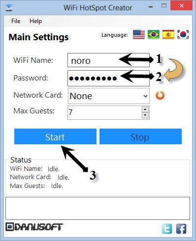 Wifi HostSpotCreator