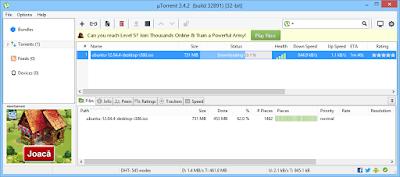 تنزيل برنامج تورنت الاصدار الاخير عربي مجانا uTorrent 3.4.2 Build 39586