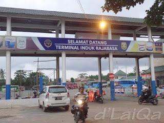 titik akhir, Terminal Rajabasa