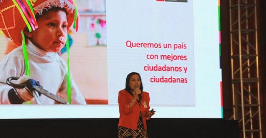 MINEDU: Debemos tener una nueva generación de maestros, sostiene la Ministra de Educación, Flor Pablo - www.minedu.gob.pe
