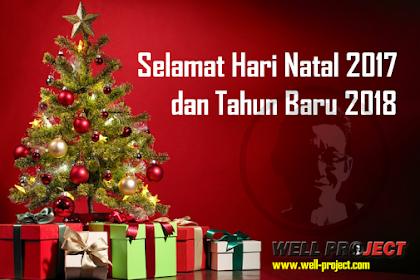 Selamat Natal 2017 dan Tahun Baru 2018