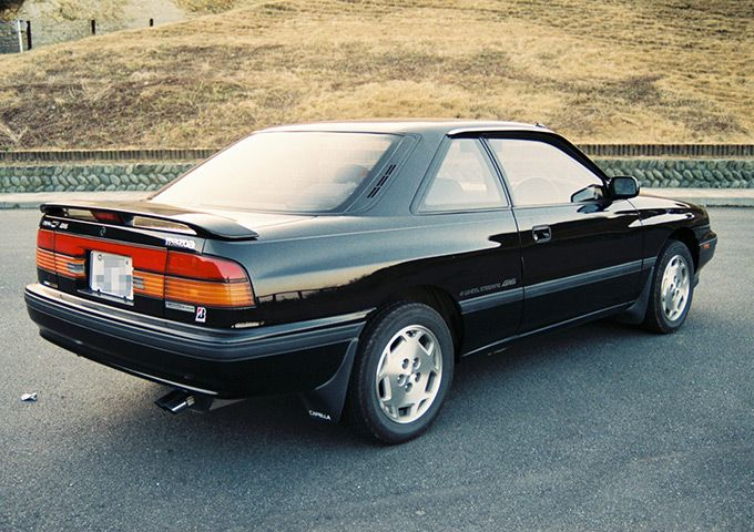 Mazda 626 Coupe GD C2 Capella japońskie coupe 日本車 マツダ