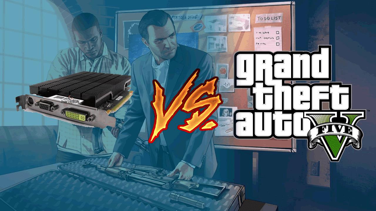9400GT vs GTA V - Será que nossa guerreira aguentou a batalha? Confira