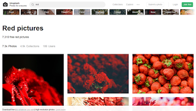 "Unplash Fotos Creative Commons Zero. Búsqueda ""Red"""