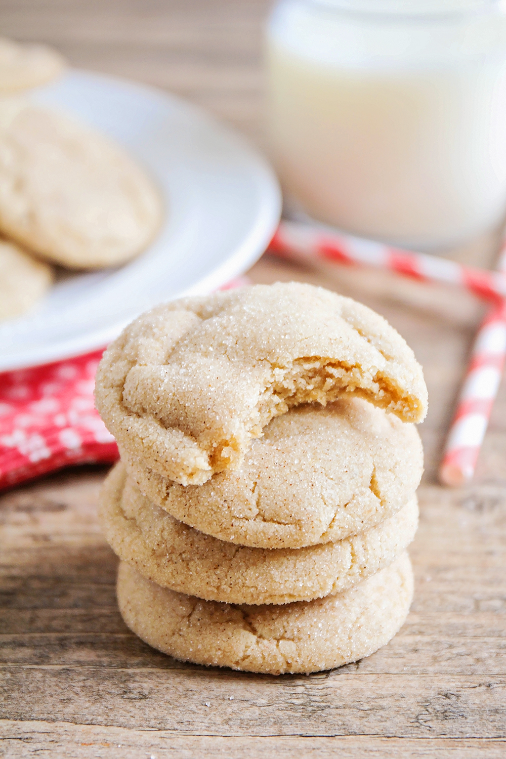 These chai spice snickerdoodles taste amazing and are the perfect mixture of sweetness and spice!