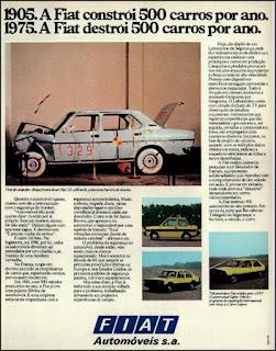 propaganda  Fiat 147 - 1976, Fiat 147 76, Fiat anos 70, Fiat década 70, carros antigos, Oswaldo Hernandez,