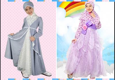 model baju fashion show anak perempuan