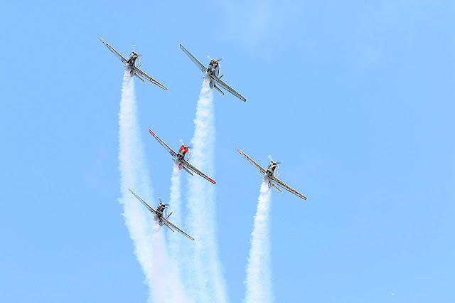 Międzynarodowe pokazy lotnicze w Gdynii Aerobaltic AirShow